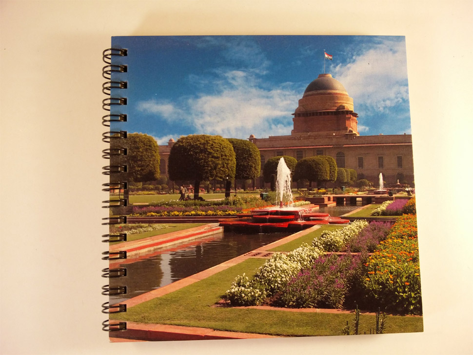 Notebook with Separators