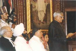Swearing-in-Ceremony of Shri R. Venkataraman as the 8th President of India, Parliament House