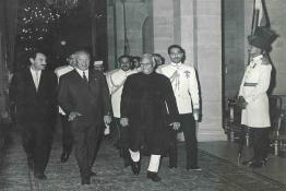 State Banquet in honour of President of USSR at Rashtrapati Bhavan
