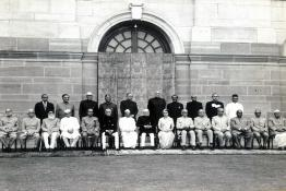 Group Photo of the President with the Governors at Rashtrapati Bhavan