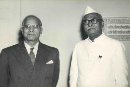 President Dr. Rajendra Prasad at the Governors' Conference held at Rashtrapati Bhavan