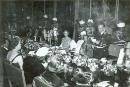 Marshal Tito replying to the President's speech at the Banquet, Rashtrapati Bhavan