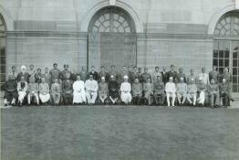 President Dr. Rajendra Prasad with the Governors and Rajpramukhs during the Annual Conference