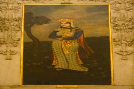 Painting of the Persian Lady in Ashok Hall